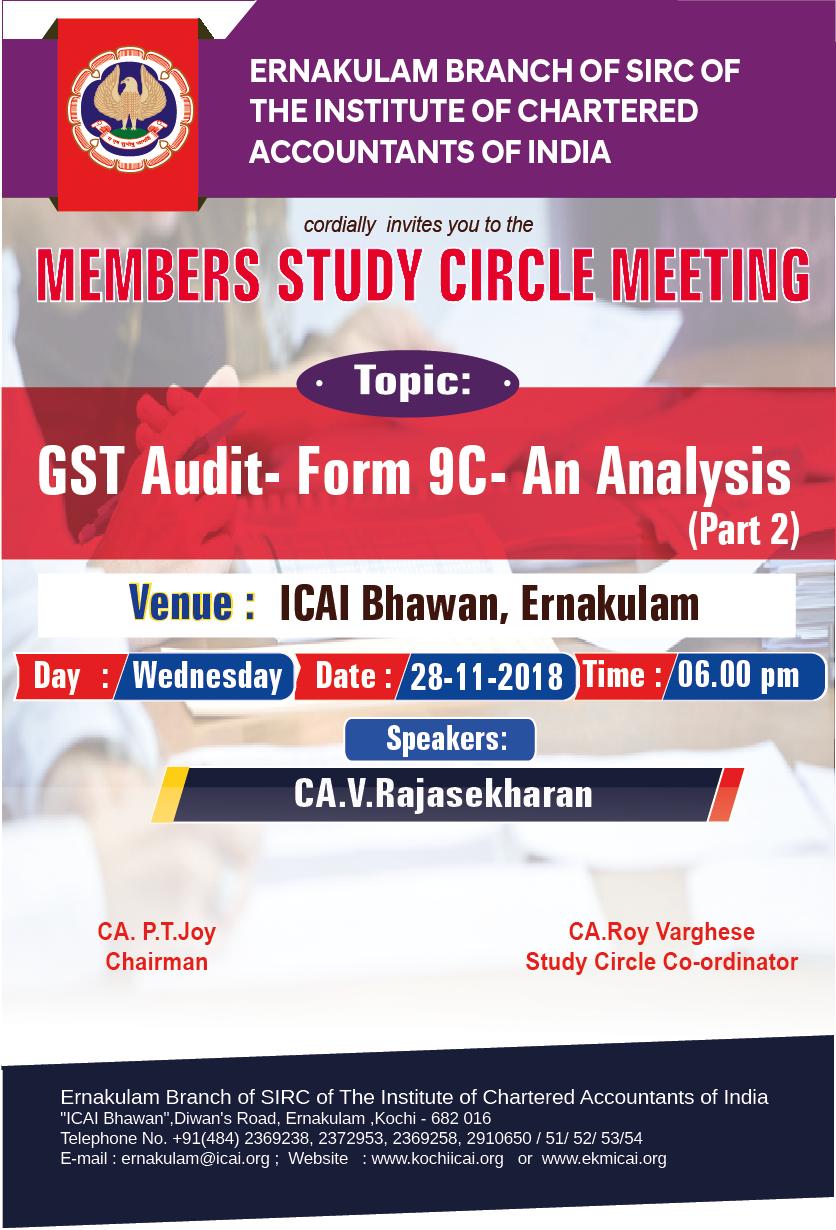 Members Study Circle Meeting