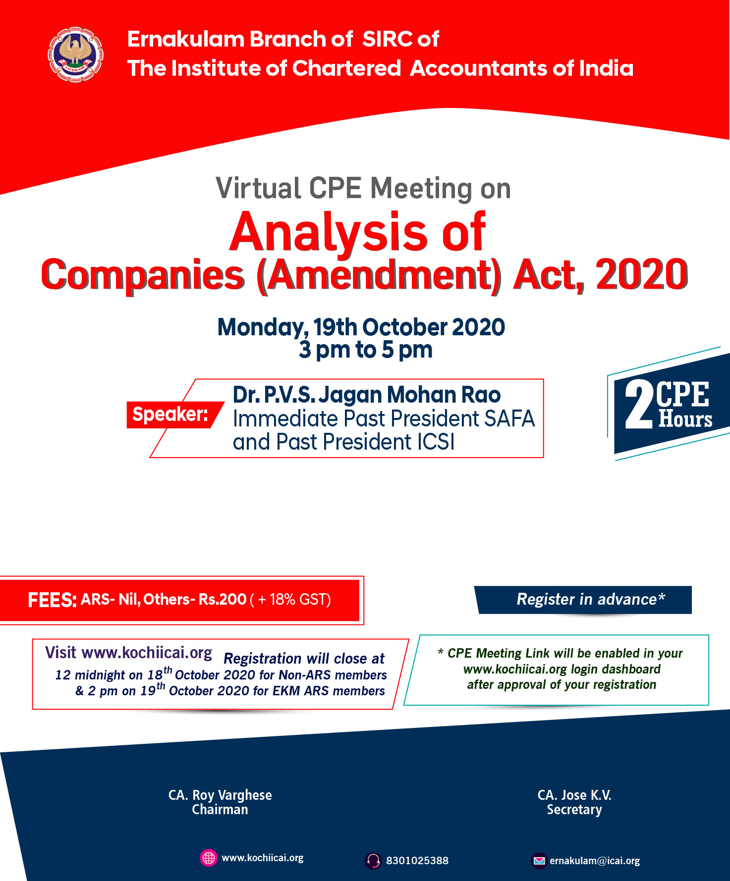 Virtual CPE Seminar on Analysis of Companies (Amendment) Act, 2020