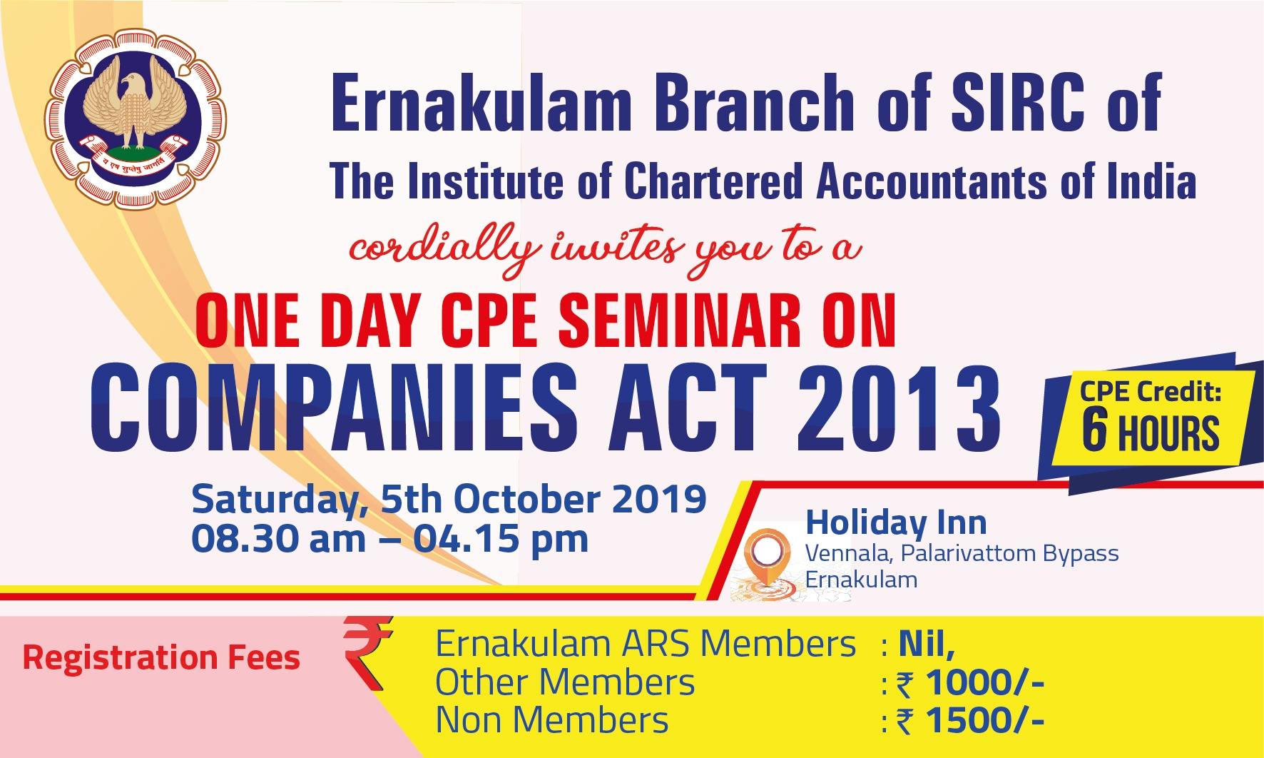 One Day CPE Seminar on Companies Act