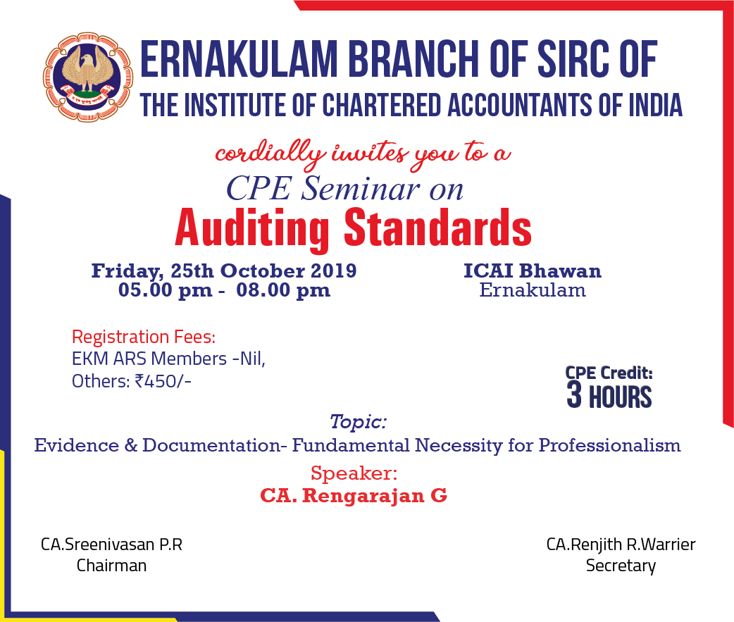 CPE Seminar on Auditing Standards