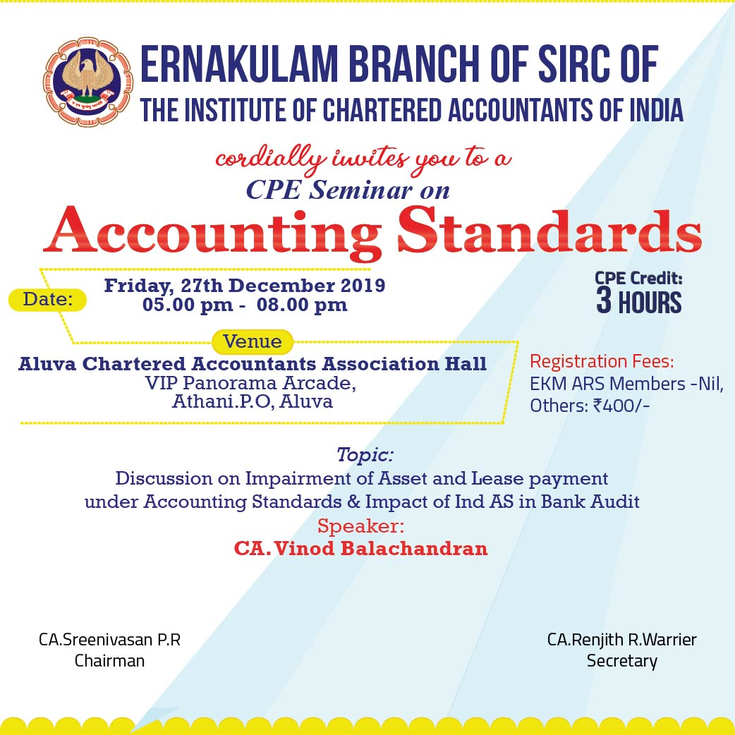 CPE Seminar on Accounting Standards
