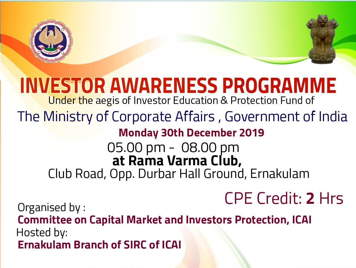 Investor Awareness Programme